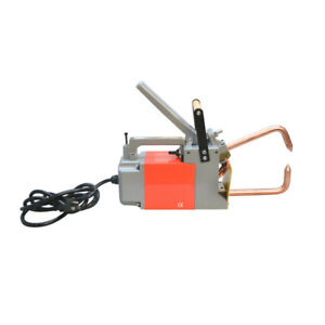 Handheld Portable Electric Spot Welder 1 8 120v 50 Rated Duty 6 Tongs Welding