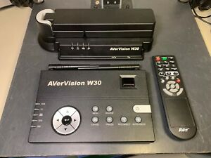 Avermedia Avervision W30 P0aw Document Camera With Cables