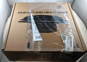 Solatek Solar Ventilation Fan With Battery For Boat And Yacht White