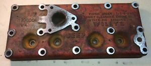 Mb Not Gpw Jeep Cylinder Head Late W jeep Cast 44 To 45