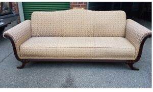 Rare Duncan Phyfe Style Convertible Sofa Bed Vintage 1941 Pick Up Only