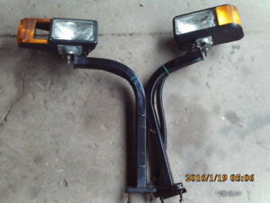 Hiniker Snow Plow Head Lights And Brackets