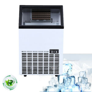 Built in Commercial Ice Cube Maker Machine Automatic Stainless Steel Ice Maker