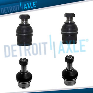 4wd Front Lower Upper Ball Joints For 1999 2012 Ford F 250 F 350 Sd Excursion