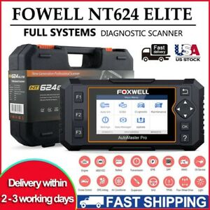 Foxwell Obd2 Full Systems Diagnostic Scanner Tool Abs Srs Oil Reset Code Reader
