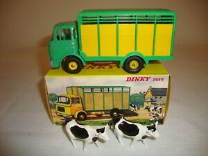 French Dinky 577 Berliet Betaillere livestock Truck Nr Mint In Original Box