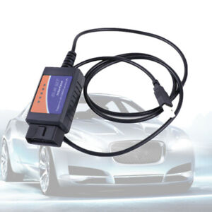 Elm327 Usb Interface Obdii Obd2 Diagnostic Auto Car Scanner Scan Tool Cable 2016