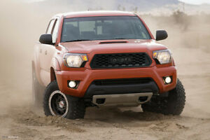 Grill For Fit Toyota Tacoma 2012 2015 Trd Pro Grille Matte Black