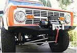 Ford Bronco Front Winch Bumper 66 77 2 3 Body Lift Early Bronco Unpainted