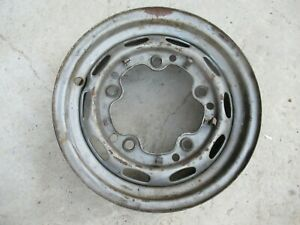 Porsche 356 Drum Brake Wheel Kpz 4 1 2 J X 15 Date Stamped 2 59 Fl 151