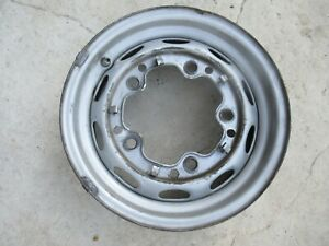 Porsche 356 Drum Brake Wheel Lemmerz 4 1 2 J X 15 Date Stamped 10 60 Fl 152
