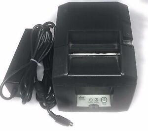 Star Micronics Model Tsp650 Thermal Receipt Printer W Power Supply
