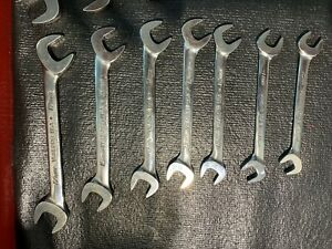 Snap On Metric 7 Piece 4 Way Angle Wrench Set Vsm 52 10mm 17mm