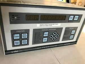 Met One A2400 1 115v 1 Laser Particle Counter Controller metone A2400 sj