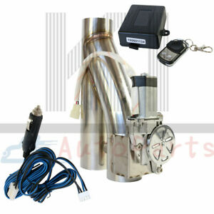 Electric 2 5 Inch Exhaust Downpipe Cutout E Cut Out Valve Controller Remote Set