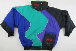 Lillehammer 1994 Winter Olympics Olympic Games Coca Cola jacket vintage 1990s L
