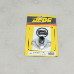 Jegs 23604 Oil Filter Adapter W O Bypass Chevy V8