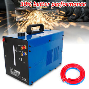 Tig Welder Torch Water Cooler Cooling 10l Capacity Tank Wearability Single Phase
