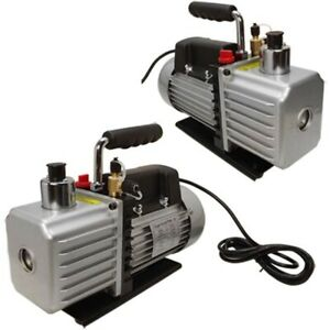 2 Stages 13hp Electric Rotary Vane Vacuum Pump 2 5cfm