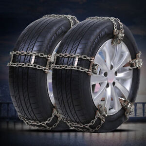 10pcs Wheel Tire Snow Anti Skid Chains For Car Truck Suv Emergency Universal