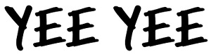 Yee Yee Vinyl Decal Bumper Sticker Hunting Decal For Car Windows Outdoors