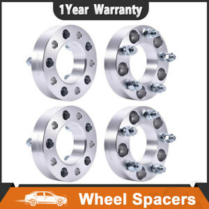 4 1 5inch 5 Lug 5x5 Wheel Spacers Adapter 14x1 5 Studs For 1988 99 Chevy C1500