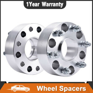 2x 2 Hubcentric Wheel Spacers Adapter 6x139 7 For Chevy Pickup Suburbantahoe
