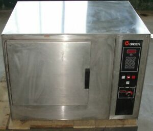 Groen Stainless Steel Electric 3 25 Cu Ft Convection Steam Oven Model Cc 10 e