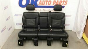 2013 14 15 Lexus Lx570 Rear Seat Middle Second Row Black Leather Heated