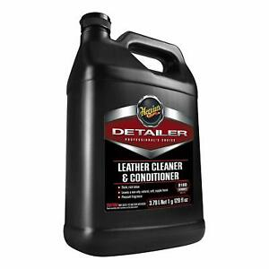 Meguiars D18001 Leather Cleaner Conditioner 1 Gallon