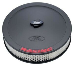 Proform 302 352 Ford Racing Black red 13 Inch Air Cleaner Assembly