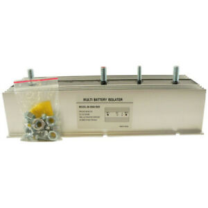 New Multi 2 Battery Isolator 200 Amp With Exciter Ems Marine Stereo Bsl0013