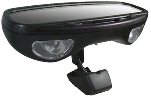 Cipa Auto Dimming Rearview Mirror With Compass Map Light Temperature Cip36500
