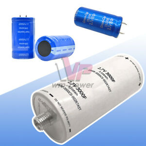 100f 500f 3000f 2 7v Low Esr Electrolytic Capacitance Super Farad Capacitor