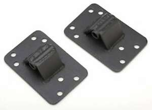 Trans Dapt Solid Chevy Frame Mounts Pair P N 9632