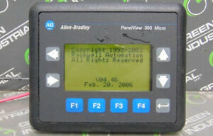 Used Allen Bradley 2711 m3a18l1 Panelview 300 Micro Operator Interface Ser A