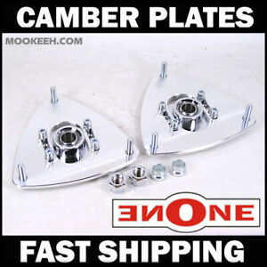 Mookeeh Adjustable Camber Kit Plates Strut Mounts For Coilover Kit 07 12 Altima