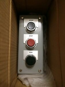 New Siemens 52c307a Heavy Duty Pushbutton And Indicator Light Control Station