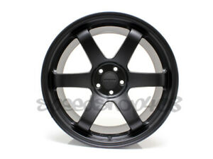 Rota Grid Wheels Flat Black 18x9 42 5x100 For Scion Tc 05 10 Subaru Wrx 02 14