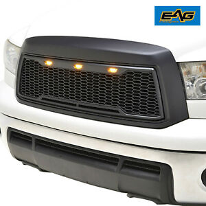 Eag Led Front Grille Abs Replacement Upper Fit 10 13 Toyota Tundra