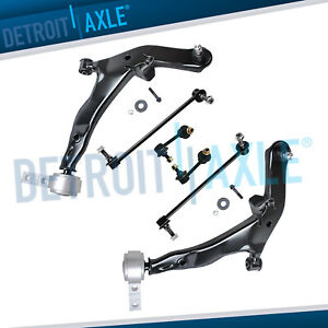 Front Lower Control Arm Sway Bar Kit For 2003 2004 2005 2006 2007 Nissan Murano