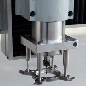 Automatic Pressure Woodworking Engraving Machine Spindle Auto Plate Device