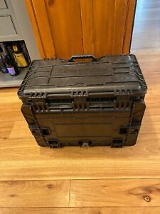 Snap on 7 Drawer Mobile Tool Chest Box Kmc Gmtk Wheeled Pole Handle Black