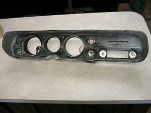 1965 Chevelle Ss Malibu Elcamino Dash Bezel Gauge Cluster Speedo Housing
