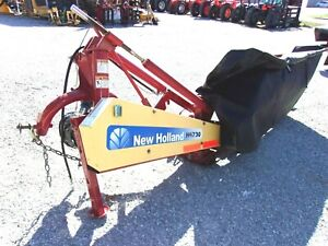 2013 New Holland H6730 7 Ft Disc Mower free 1000 Mile Delivery From Kentucky
