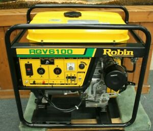 Robin Rgv6100 Gas Generator Never Has Had Gas Or Oil