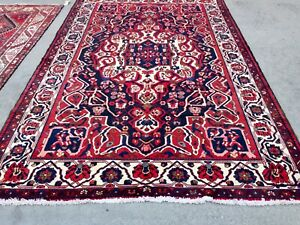 Authentic Large Wool Hand Knotted Handmade Persiann Rug Carpet Runner