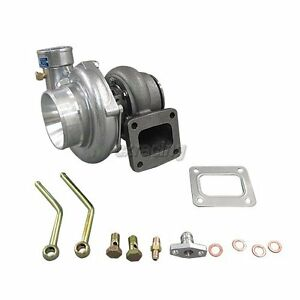 Cxracing T4 Gt35 Turbo Charger 0 68 Ar Super Fast 500 Hp For Eclipse Mustang