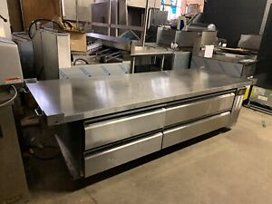 Silverking 93 Commercial Chef Base Heavy Duty Refrigerated Grill Stand