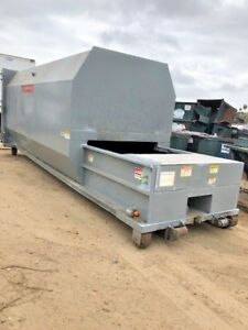 Trash Garbage Recycling 35yd Ptr Self Contained Low Pro file Compactor